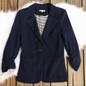41 Hawthorn Stitch Fix Benson Navy Blue Blazer